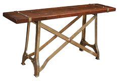 Industrial Console Table on OneKingsLane.com