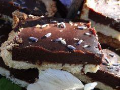 ...a quiet life...: lavender cardamon chocolate tart