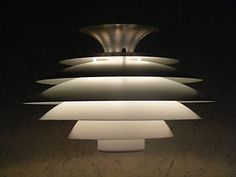 Danish 70's Form Light Pendant Lamp Mid Century Modern Design Ph Fog Morup Era | eBay