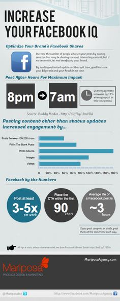 Increase Your Facebook Reach [Infographic]