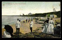 "Wonder's ~ Postcard W/ ""north Beach"" Hog Island, Bahama Islands ~ St Thomas Vi, British West Indies, North Beach, Islands, Saints, Dating, Decor Ideas, Bath, Vintage"