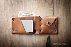Leather Coin Wallet Coin Wallet Change Wallet Leather por MrLentz