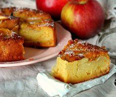 Torta di mele veloce nel frullatore