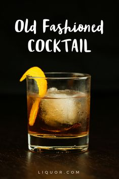 The #old #fashioned #cocktail is a classic you need to know how to make