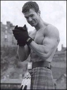 Real men wear kilts. :) This is for you, my dear sister lol @Jamie Lundy