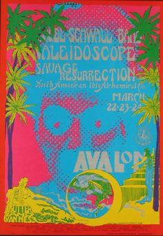 March 22-24, 1968 * Avalon Ballroom