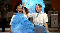One of the best known songs in White Christmas is 'Sisters'. Of course when it first appears in the movie is when Betty and Judy Haynes are performing it as part of their nightclub act and hoping to catch the
