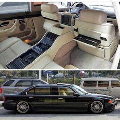 BMW E38 L7 Equipment level max