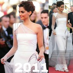 Throwback  #SonamKapoor look from Cannes Film Festival 2011.!! @BOLLYWOODREPORT !! #cannes #cannesfilmfestival #cannes2016 #openingceremony #cafesociety #india #indian #desi #bollywoodactress #celebritystyle #celebfashion #celebstyle #redcarpet #hairstyle #makeup #eyemakeup #bollywoodstyle #NamrataSoni #RheaKapoor #SunitaKapoor #anilkapoor #instabollywood #instantbollywood #desi @BOLLYWOODREPORT !! . For more follow #BollywoodScope and visit http://bit.ly/1pb34Kz