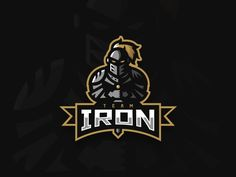 Team Iron Knight Mascot Logo by Kyle Papple