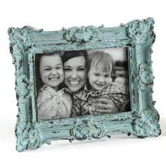 Ornate Blue Vintage Picture Frame, 4x6   Kirklands