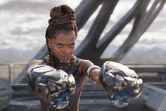 Letitia Wright in Black Panther