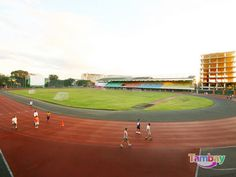 The Marikina Sports Complex Track and Field President Of The Philippines, Sport Park, Sports Complex, Environmental Science, Track And Field, Manila, Baseball Field, Running, City