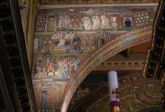 Rom, Santa Maria Maggiore,Triumphbogenmosaik (mosaic of the triumphal arch)