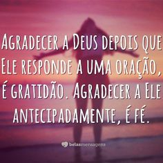 Sempre Deus! ❤️