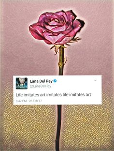 New! Lana Del Rey on Twitter #LDR #quotes