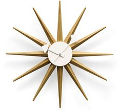 Sunburst Clock. George Nelson. MoMA. Okay one more Nelson clock.