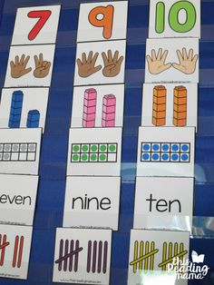 Number Sorting Cards - This Reading Mama