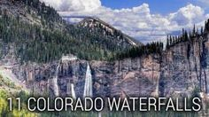 Waterfalls in Colorado are worth making an extra trip, some are just off the road and some require a bit of hiking. A few favorites include Seven Falls, Hanging Lake, Boulder Falls, Bridal Veil Falls in Telluride and Helen Hunt Falls.