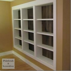 Beautiful & Budget Friendly Bookcase Ideas :: Vivienne @ The V Spot's clipboard on Hometalk :: Hometalk
