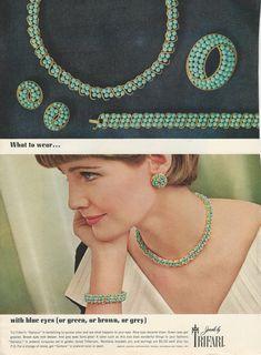 """1964 Trifari """"Samara"""" Ad"""