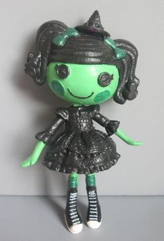 RESERVED Lalaloopsy OOAK as Wicked Witch from Wizard of by arkohio, $36.00