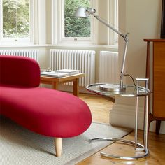 """Among the classics this is perhaps \\'the\\' classic. Its ingeniously proportioned, distinctive form has made this height-adjustable table into one of the most popular design icons of the 20th century. It is named after the summer house E 1027, """"Maison en bord de mer"""", which Eileen Gray built for herself and for her collaborator, Jean Badovici. The name of the table comes from both of their names: E is for Eileen, 10 for Jean (J is the 10th letter of the alphabet), 2 for B(adovici) and 7…"""