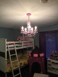 Gypsy Color 6 Arm PINK CHANDELIER Large Acrylic CRYSTAL CHANDELIER Lighting New Girls Room Chandelier Best Selling Bedroom Baby Nursery Teenage Playroom Girl Dorm Chandeliers, Pink - - Amazon.com
