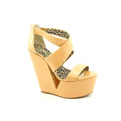 57.99 Brand & Style - Jessica Simpson Sasa Width - Medium (B, M)True Color - SandUpper Material - Patent Leather Outsole Material - Man-Made Heel Height - 6 Inches