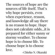 Hope -- Okazaki
