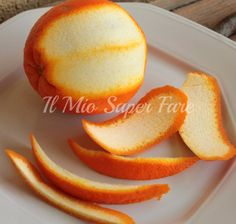 Polvere di buccia di arancia |Buccia di arancia essiccata blog il mio saper fare Sweets Recipes, Desserts, Beautiful Fruits, Romanian Food, Preserving Food, Biscotti, Finger Foods, Food Art, Orange