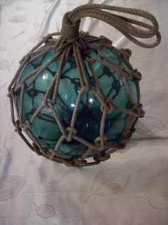 nautical glass buoy