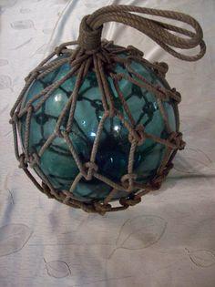 nautical glass buoy