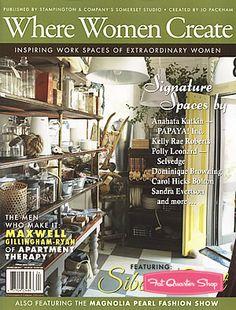 Where Women Create Magazine November/December/January Stampington & Company