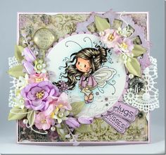 Wee Cindy – New Whimsy Stamps Release