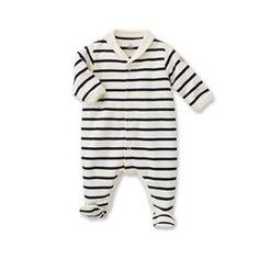 Dors bien bébé mixte à rayure marinière