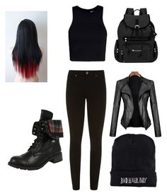 """Untitled #4"" by justchristian ❤ liked on Polyvore featuring Sherpani, Paige Denim, T By Alexander Wang and Boohoo"