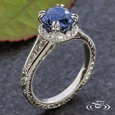 Engagement ring finder -Edwardian Sapphire Engagement Ring