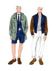 J.Crew Spring 2014 Men's Sketch