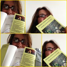 Maria Carmem, DOCE LEITORA, lá de Santa Catarina entrelaçando seus 'Deixados aos meus'!