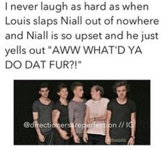 Louis looked so proud of himself too! XD That video is so funny.