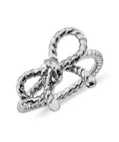 Blue Nile Forget-Me-Knot Ring  To buy: $77 #gifts
