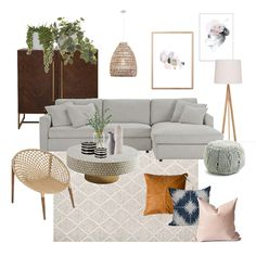 Boho Luxe Living Room Mood Board - Style Sourcebook View this Interior Design Mood Board and more designs by JessicaFloodDesign on Style Sourcebook. Boho Living Room, Interior Design Living Room, Living Room Designs, Living Room Decor, Mood Board Interior, Moodboard Interior Design, Mint Living Rooms, Bathroom Interior, Interior Styling