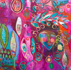 Amazing painting by Flora Bowley