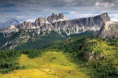 Italy's Dolomites National Park    by  Samuel Bitton