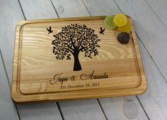Maple Wood Cutting Board --21238-CUTB-021 Mothers Day gift Farmhouse kitchen Wedding Shower gift Custom Cutting Board Cutting Board