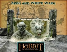 """Lord of the Rings """"Hobbit"""" - Azog the Pale with his white Warg von RazorWorx auf Etsy Lord Of The Rings, The Hobbit, Etsy, The Lord Of The Rings, Hobbit"""