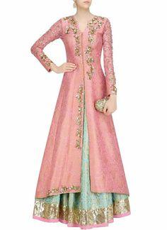Indian Gowns Dresses, Indian Fashion Dresses, Indian Designer Outfits, Pakistani Dresses, Indian Outfits, Designer Dresses, Indian Clothes, Brocade Lehenga, Lehenga Choli Online