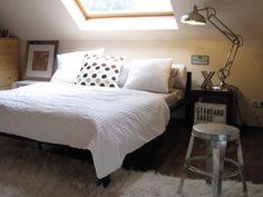 Schlafzimmer, eigentlich für zwei von Barney