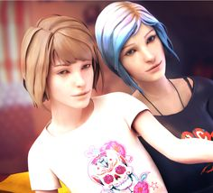 Life Is Strange- Max and Chloe selfie by ICYCROFT on DeviantArt